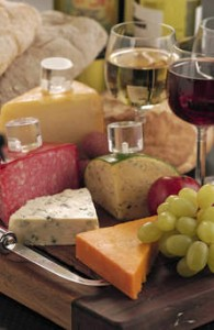 Wine & cheese image